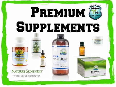 Premium Natures Sunshine Supplements from Brilliant Health and Fitness
